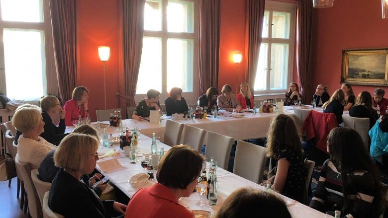 Sitzung der Gruppe der Frauen der CDU/CSU-Bundestagsfraktion. Foto: Diana Tuppack