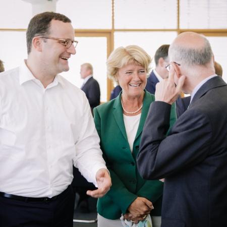 Bundesvorstandssitzung der CDU Deutschlands - Monika Grütters mit Jens Spahn und Prof. Dr. Norbert Lammert