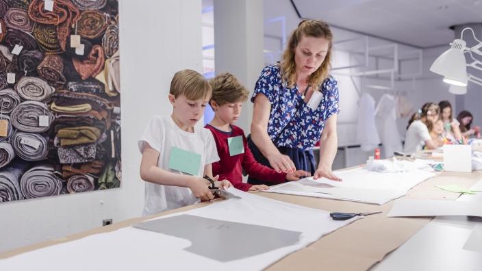 Winterferienprogramm 2018. Foto: Staatliche Museen zu Berlin / David von Becker