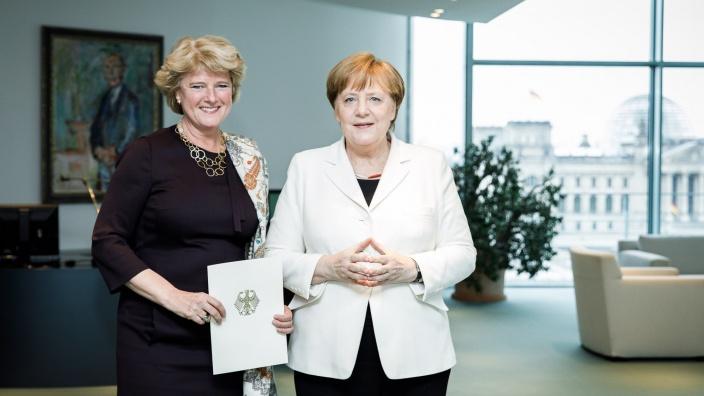 Ernennung zur Kulturstaatsministerin. Foto: Bundesregierung | Jesco Denzel