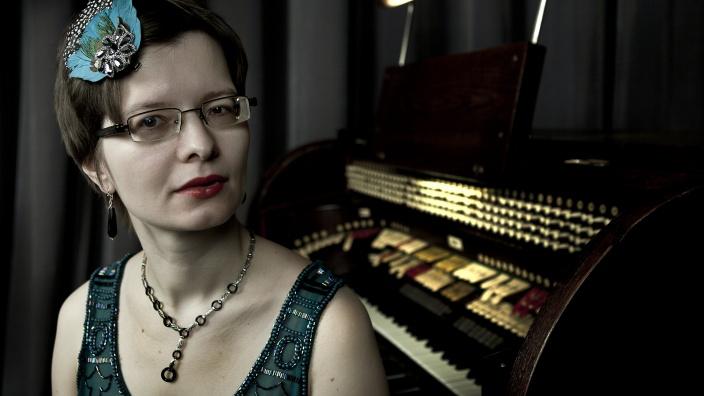 Organistin Anna Vavilkina. Foto: Djamila Grossman