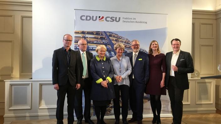 Filmempfang der CDU/CSU-Bundestagsfraktion in der Deutschen Parlamentarischen Gesellschaft. Foto: Diana Tuppack