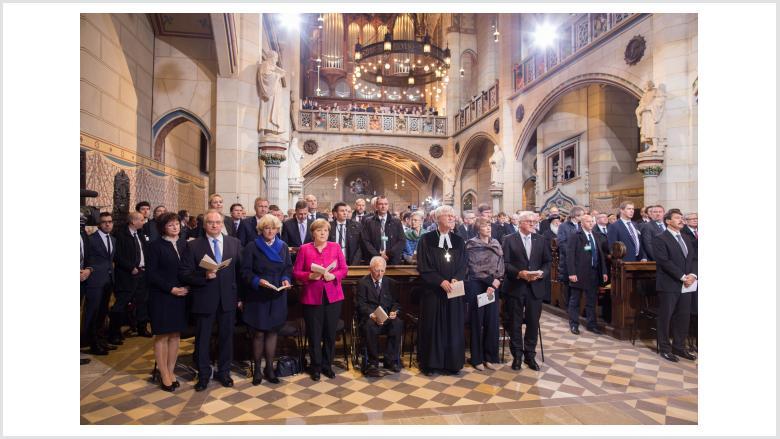 Reformationsjubiläum in Wittenberg. Foto: Gläscher | EKD