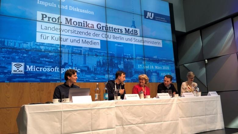 Deutschlandrat der Jungen Union am 18. März 2018 in Berlin. Foto: Barbara Zumkley