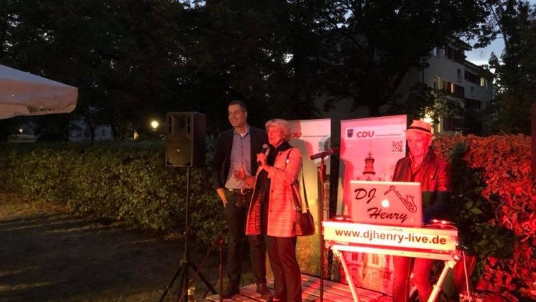 Sommerfest der CDU Charlottenburg-Wilmersdorf. Foto: Bundestagsbüro Prof. Monika Grütters MdB