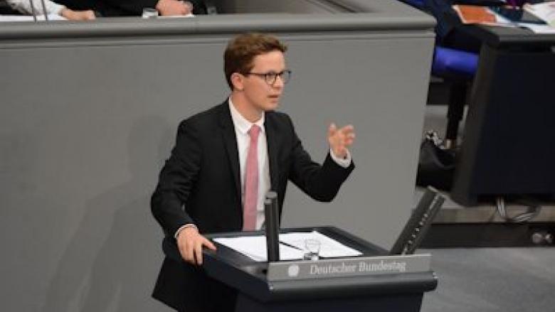 Jugend und Parlament im Deutschen Bundestag. Foto: Sven Ullrich | Deutscher Bundestag