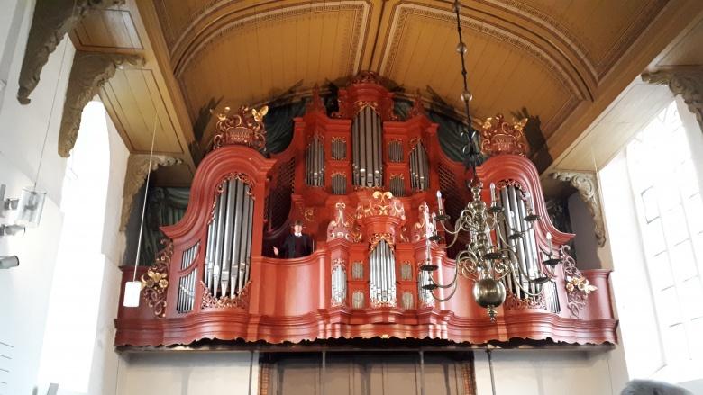 Schnitger-Orgel in der Georgskirche in Weener. Foto: Büro Prof. Monika Grütters MdB