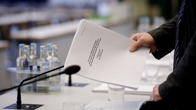 Koalitionsvertrag. Foto: CDU | Tobias Koch