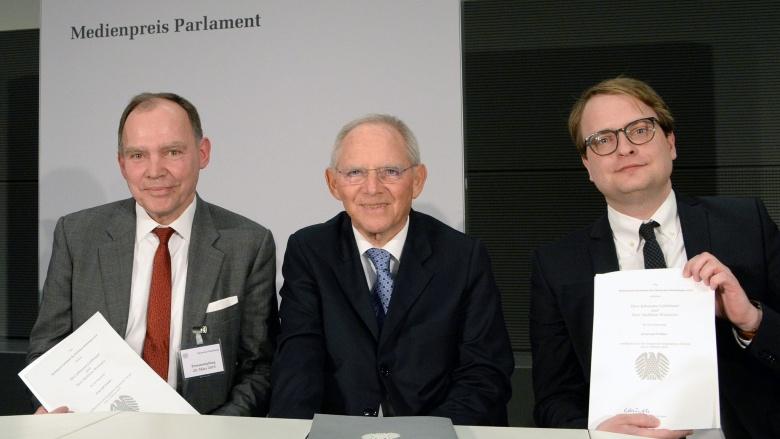 Medienpreis Parlament 2019. Foto: Deutscher Bundestag   Achim Melde