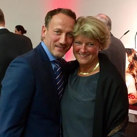 Monika Grütters mit Wotan Wilke Möhring