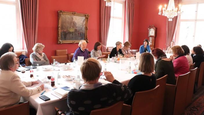 Sitzung der Gruppe der Frauen der CDU/CSU-Bundestagsfraktion am 12. März 2020 | Foto: Diana Tuppack