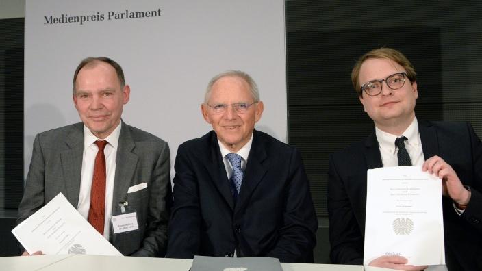 Medienpreis Parlament 2019. Foto: Deutscher Bundestag | Achim Melde