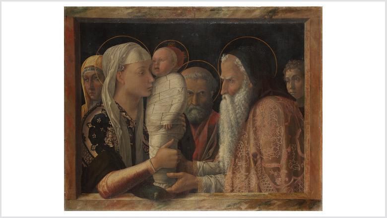 Andrea Mantegna | Die Darbringung Christi im Tempel | ca. 1453 © Staatliche Museen zu Berlin, Gemäldegalerie / Christoph Schmidt