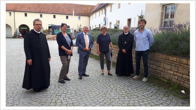 Besuch der Benediktiner-Abtei Plankstetten am 21. Juli 2020. Foto: Büro Prof. Monika Grütters MdB