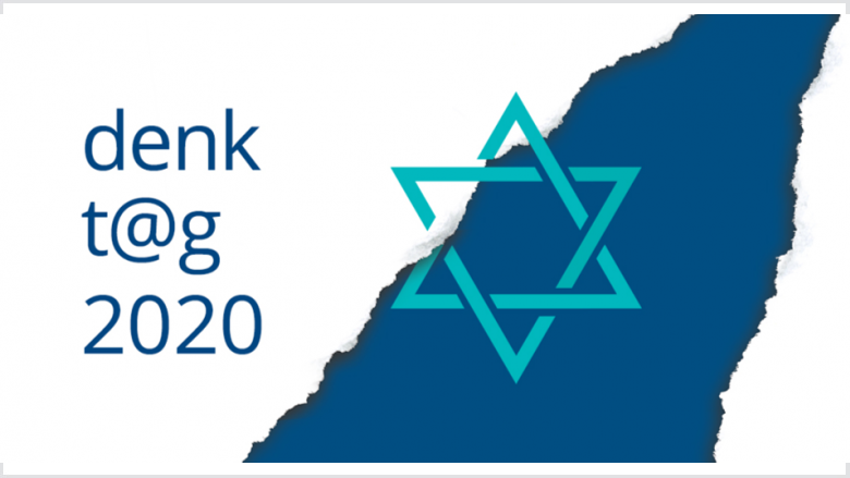 "Logo ""denkt@g 2020"" der Konrad-Adenauer-Stiftung."