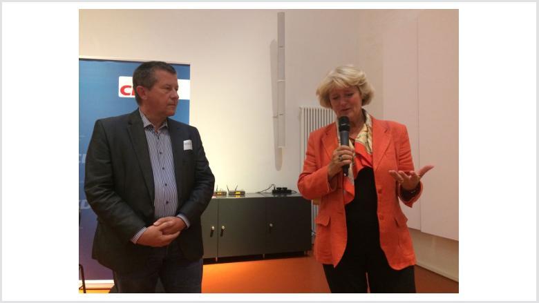 Christian Goiny MdA und Monika Grütters. Foto: CDU Berlin