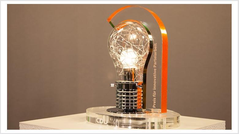 Preis für innovative Parteiarbeit | Foto: Christiane Lang