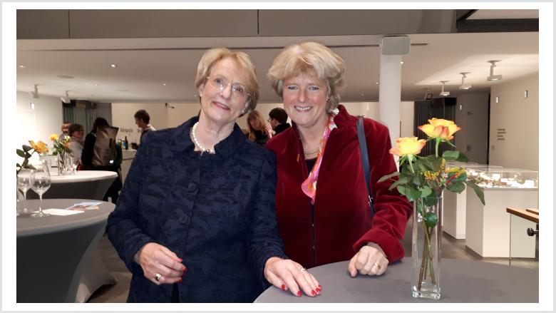 Monika Grütters und Eske Nannen in der Kunsthalle Emden. Foto: Büro Prof. Monika Grütters MdB