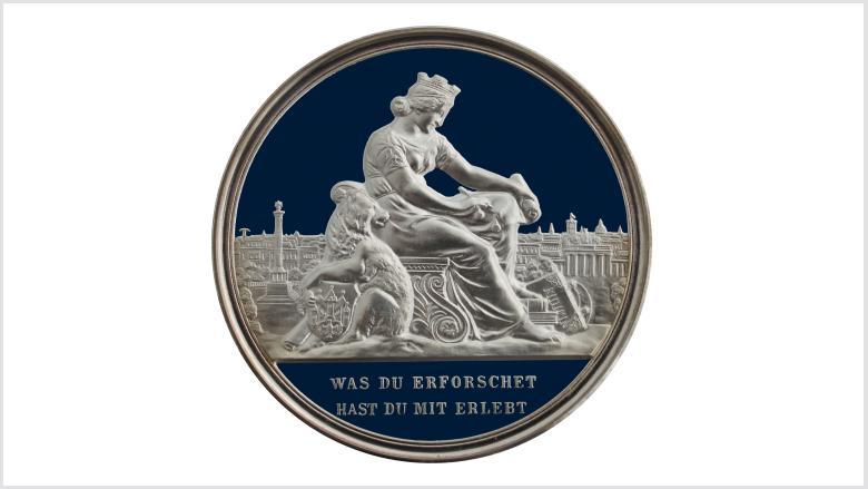 Logo des Vereins für die Geschichte Berlins e.V., gegr. 1865.