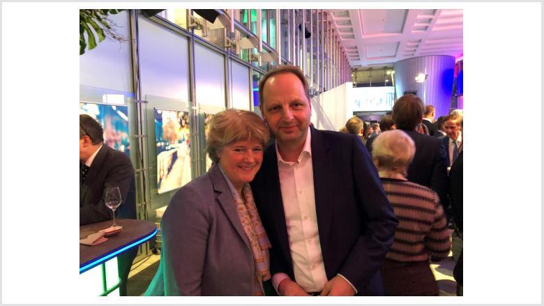 Monika Grütters und Thomas Heilmann (Kreisvorsitzender der CDU-Steglitz-Zehlendorf). Foto: Meiko Keller