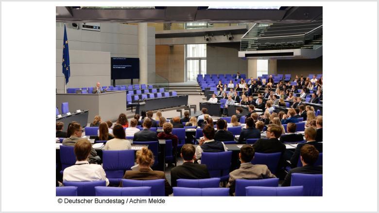 Jugend und Parlament 2017. Foto: Deutscher Bundestag | Achim Melde