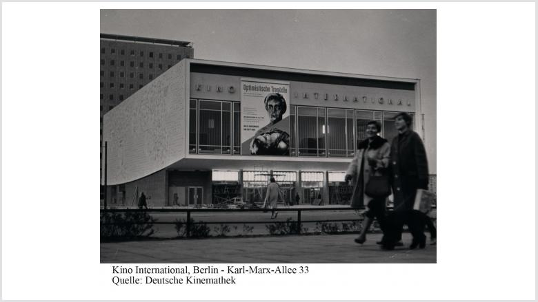 Kino International   Foto: Deutsche Kinemathek