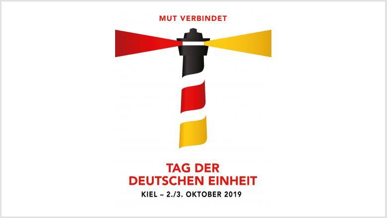 """Logo """"Tag der Deutschen Einheit 2019"""""""