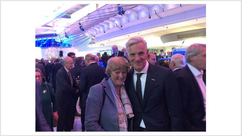 Monika Grütters und Stephan Schwarz (Präsident der Handwerkskammer Berlin). Foto: Meiko Keller