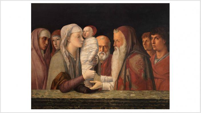 Giovanni Bellini | Die Darbringung Christi im Tempel | ca. 1472 © Fondazione Querini Stampalia, Venedig / cameraphoto arte snc