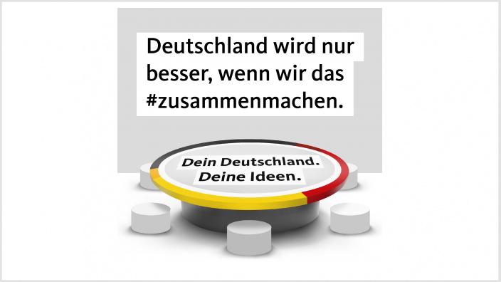 Beteiligungskampagne der CDU Deutschlands.