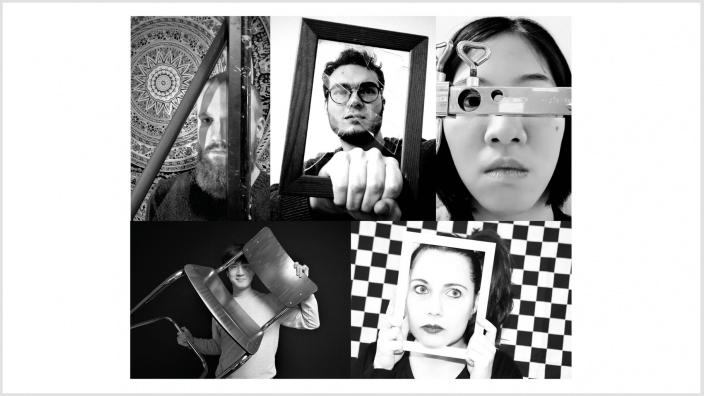 Fotocollage des Ensembles Broken Frames Sydicate - Moritz Schneidewendt