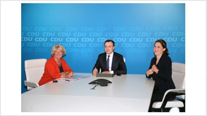 Konstituierende Sitzung des Netzwerks Kultur der CDU Deutschlands. Foto: CDU / Jens-Uwe Kerl