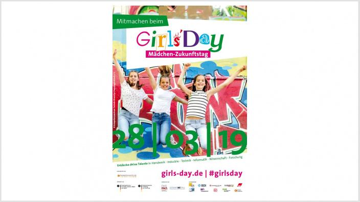 Girls'Day - Plakat 2019.